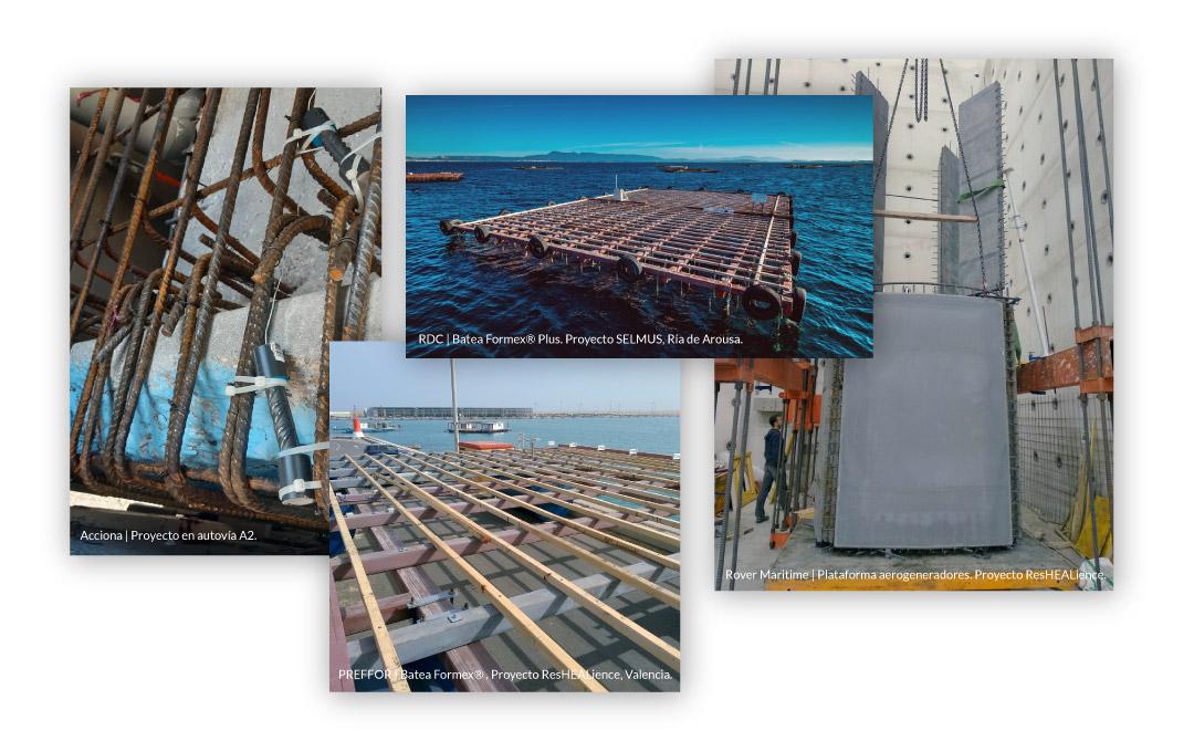 Galeria de proyectos que emplean Corrochip